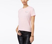 Mighty Fine Women's Babe Squad Graphic T-Shirt, Pink