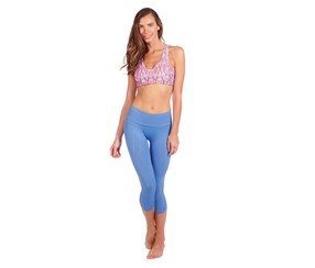 NUX Women's Legging, Blue