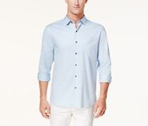 Tommy Bahama Men's Oasis Silk Shirt, Light Blue