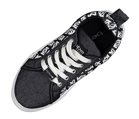 Bebe Boy's & Girl's Sneaker, Black/White