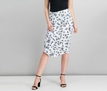 Vince Camuto Ruched Pencil Skirt, Ultra White