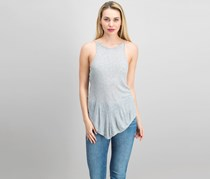 RAG By RD Style Women's Sleeveless Top, Heather Grey