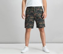 Weatherproof Vintage Mens Printed Shorts, Dark Floral