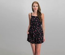 Free People Sweet In The Streets Shortall, Black