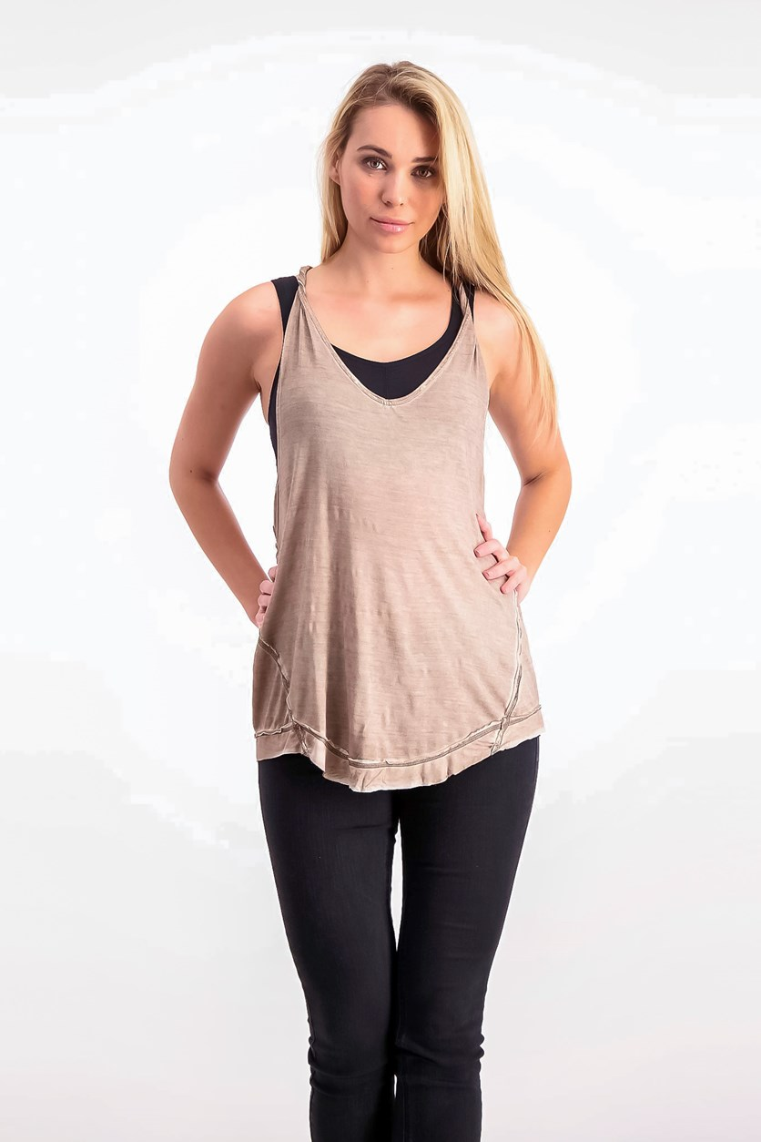 Nectarine Tank Top, Rosemary