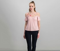 by Ikeddi Juniors' Embroidered  Top, Mauve