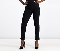 Style & Co Ella Boyfriend Jeans, Deep Black