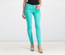 Celebrity Pink Juniors' Jayden Colored Skinny Jeans, Turquoise