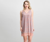 William Rast Canyon Printed Babydoll Cami Slip Dress, Rosette