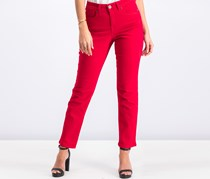 Style & Co Women's Straight Leg Jeans, Red