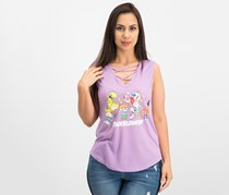 Love Tribe Juniors Nickelodeon Graphic-Print Tank, Lavender