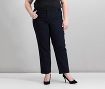 Style Co Plus Size Tummy-Control Straight Jeans, Rinse