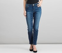 Inc Beyond Stretch Wash Curvy Skinny Jeans, Indigo