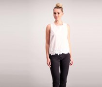 Cotton Embroidered Tops, Shell Soft Combo