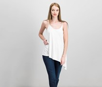 Bar III Asymmetrical Tank Top, Just Blush