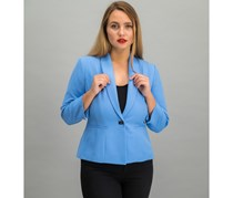 Kasper Women's Blazer, Blue Horizon