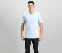 Tasso Elba Men's Knit T-Shirt, Blue