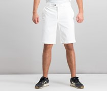 Tasso Elba Men's Twill Stretch Shorts, Vintage White