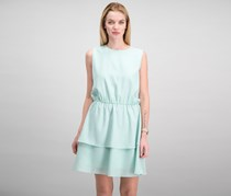 Cynthia Rowley Tiered Peasant Dress, Aqua