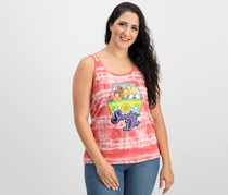 Scooby-Doo Graphic Tank Top, Coral