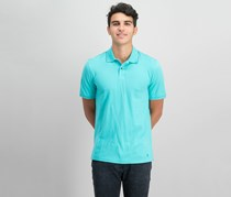 IKE By Ike Behar Men's Pique Polo Shirt, Sage Stone