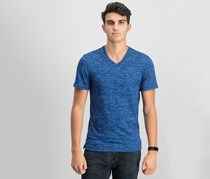 IKE By Ike Behar Men's Space Dye T-Shirt, Navy Wind