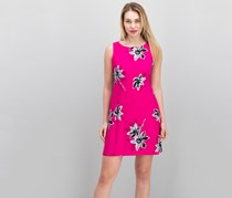 American Living Floral-Print Dress, Pink Combo