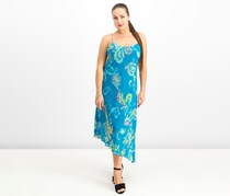 Ralph Lauren Women's Paisley-Print Dress, Teal