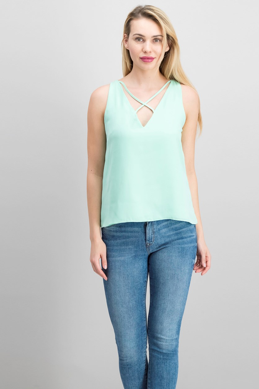 Women's Sleeveless, Mint Green