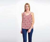 Soft Joie 'Micala' Print Tank, Red