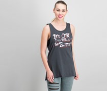 Women With The Band Graphic-Print Tee, Charcoal