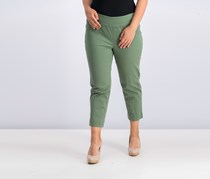 Style Co. Pull-On Capri Jeans, New Pale Sage