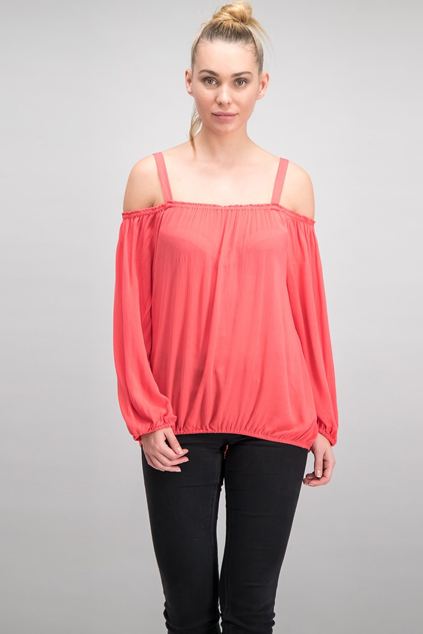 Women Off-The-Shoulder Top, Mozambique