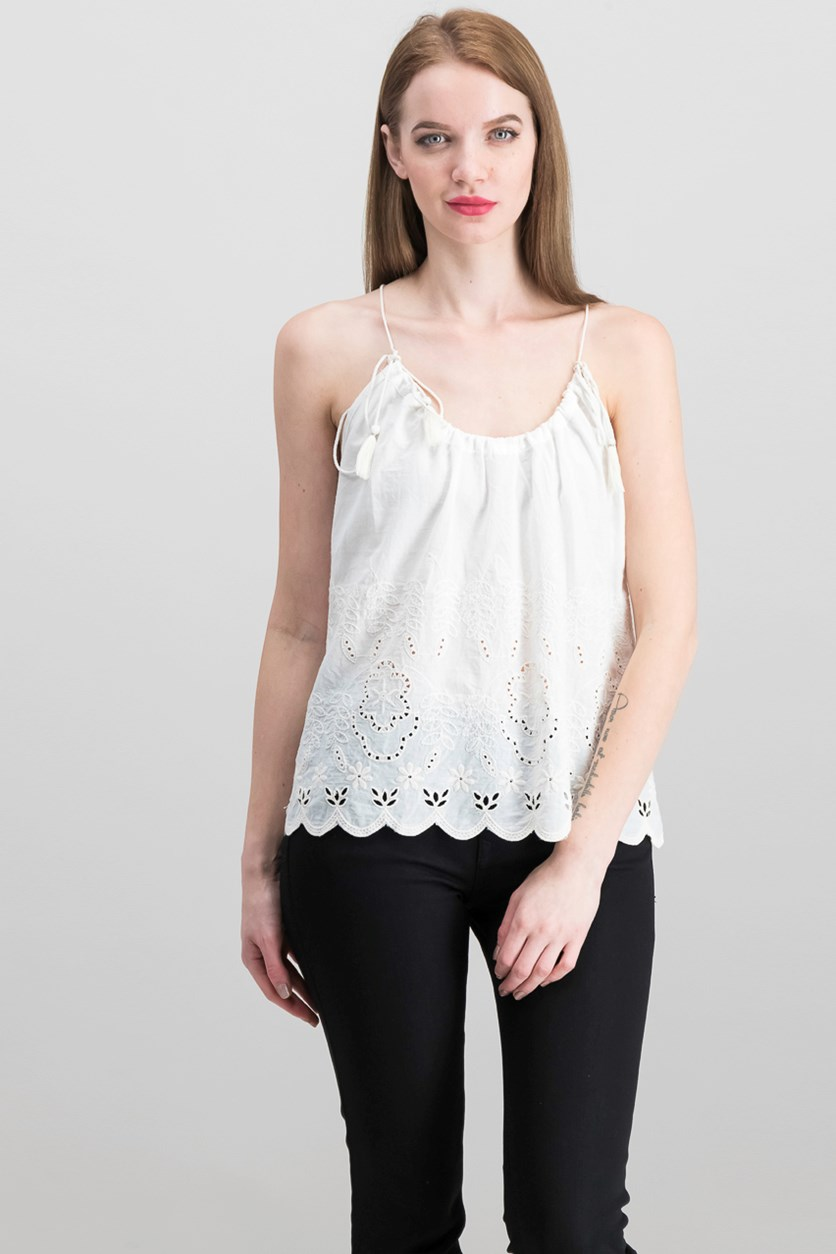 Women's Sleeveless, Ivory