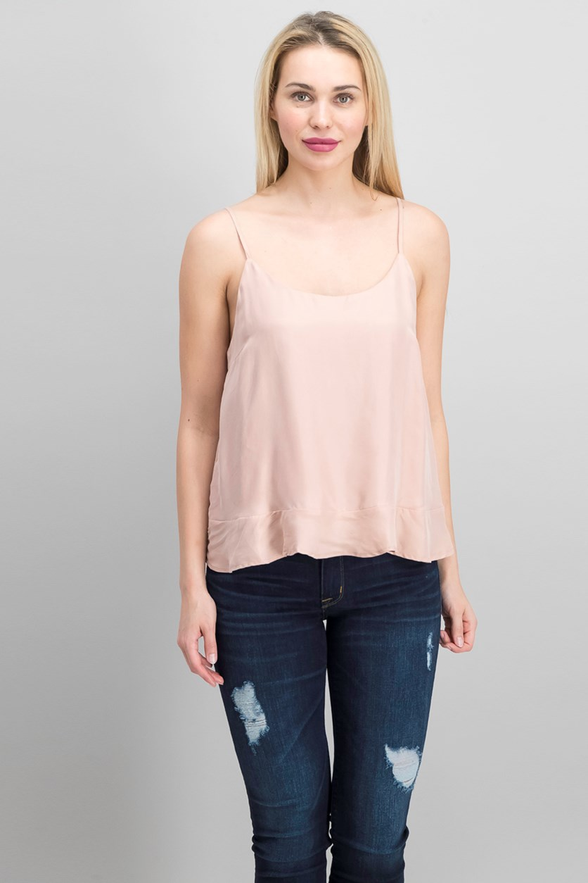 Women's Flowy Sleeveless Top, Blush