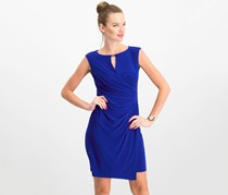 Lauren Ralph Lauren Keyhole Jersey Dress, Cliffside Violet