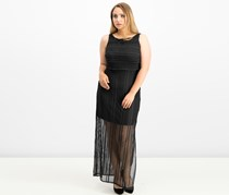 American Living Lace Maxi Dress, Black