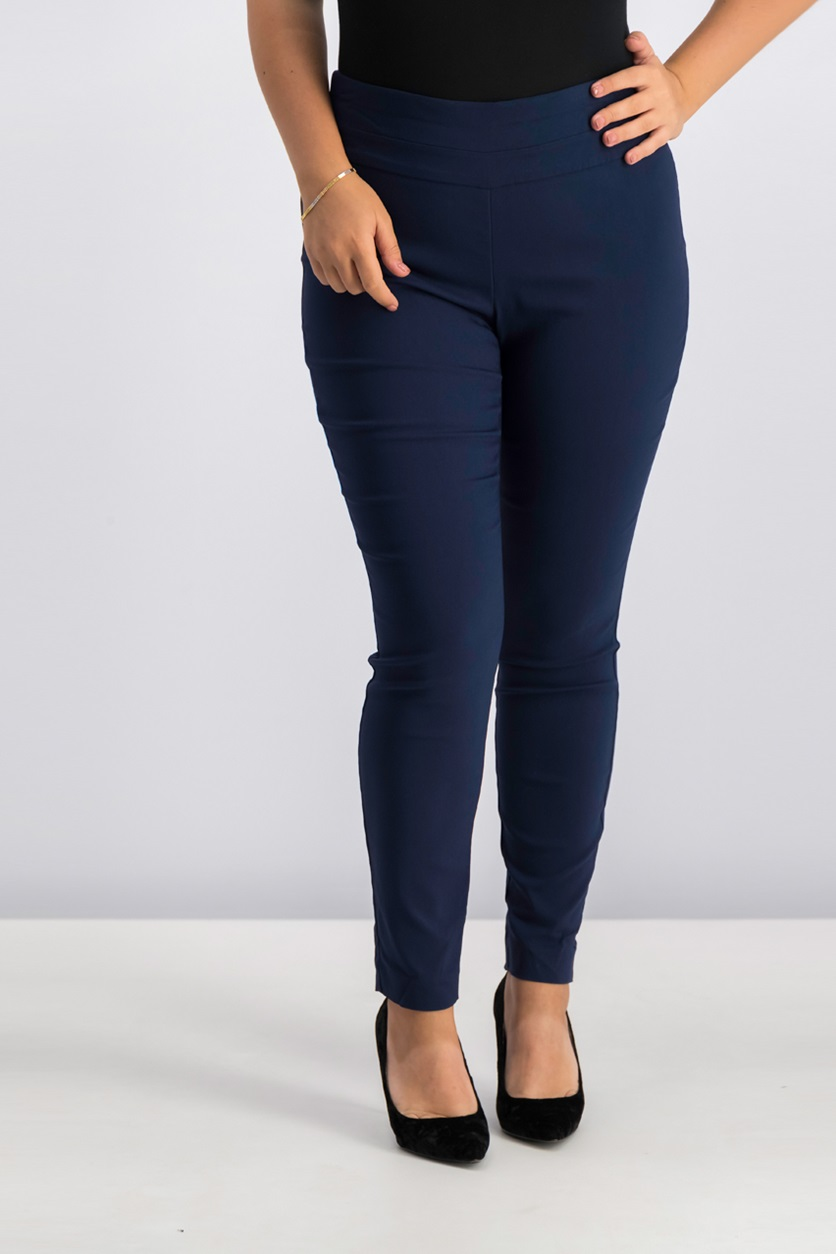 cdcb895f7d Shop Style & Co Style Co Tummy-Control Stretch Leggings, Industrial ...
