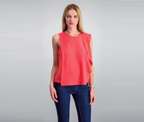 Rachel Roy Ruffled Blouse, Watermelon