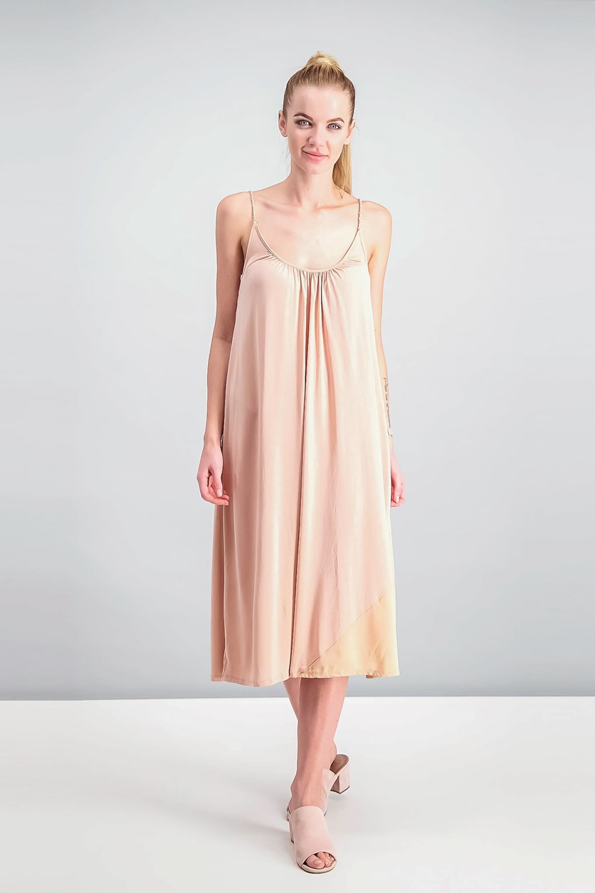Grace Shift Dress, Pink Opal