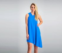 Rachel Rachel Roy Asymmetrical Shift Dress, Blue