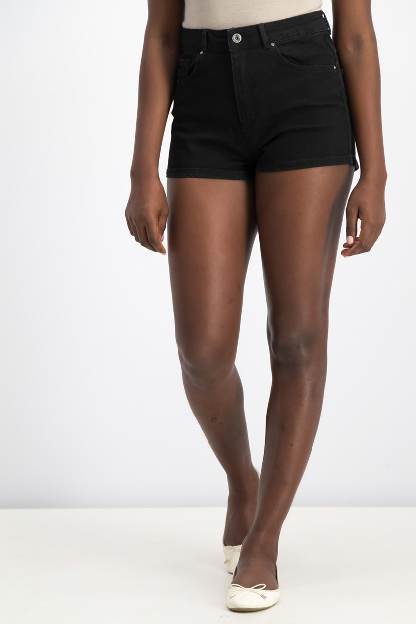 Women's  Denim Short, Black