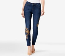 Style Co Sequin-Embellished Curvy Skinny Jeans, Central
