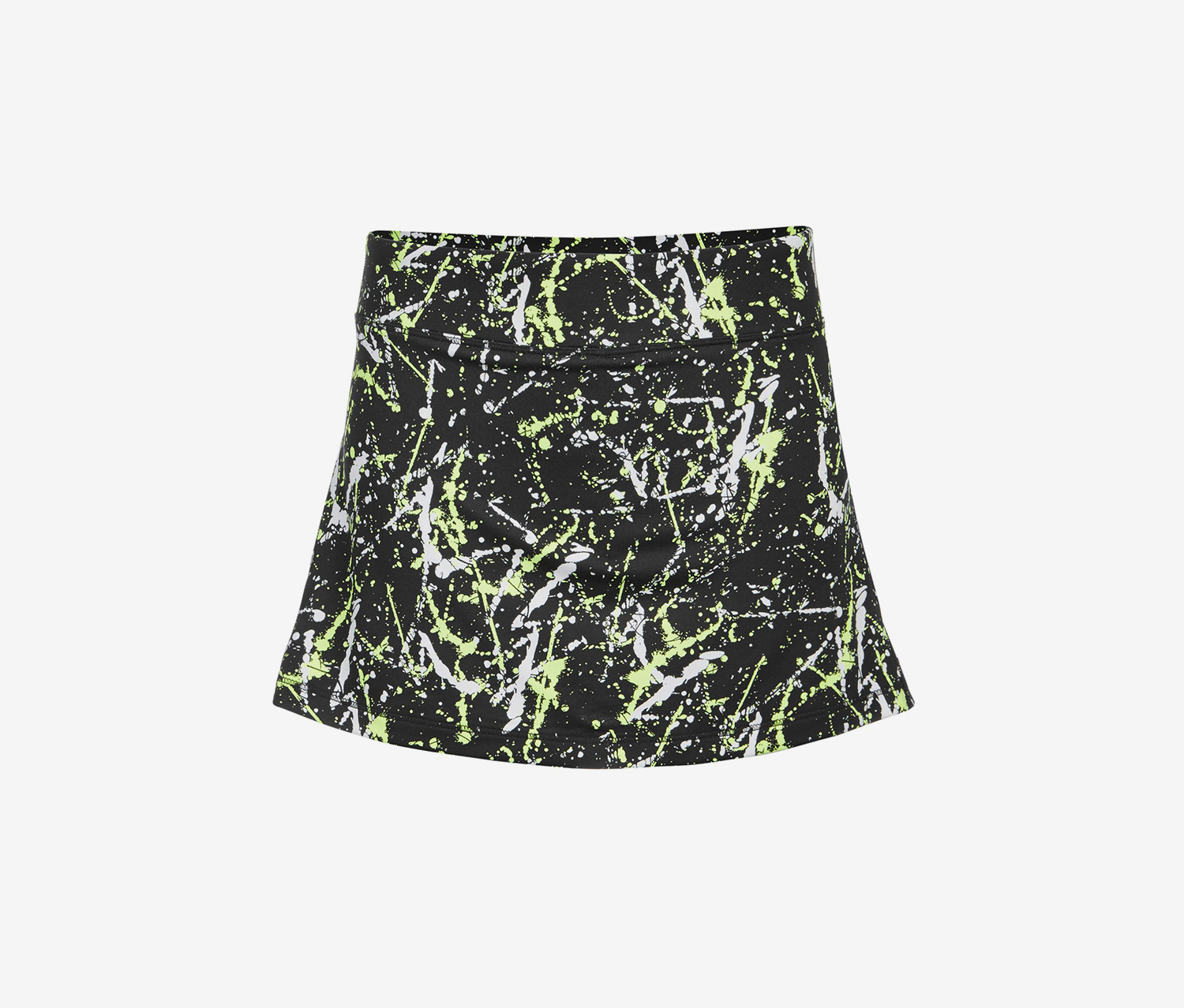 Toddler Girls Tiered-Back Skort, Splatter