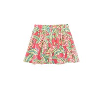 Epic Threads Tropical-Print Scooter Skirt, Berry Cooler