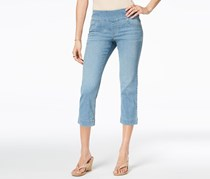 Style & Co Women's Pull-On Capri Jeans, Visions