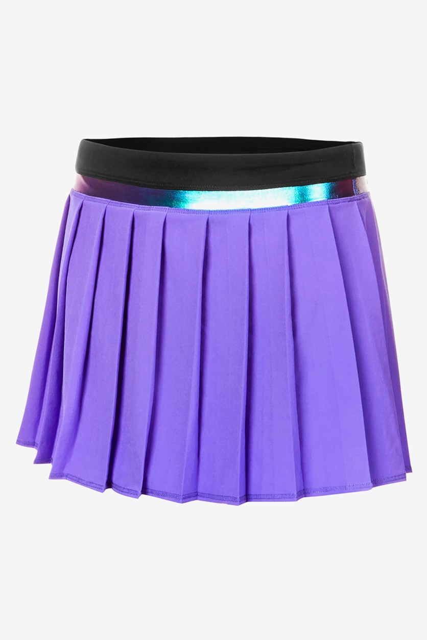 Big Girls Pleated Skort, Positive Purple