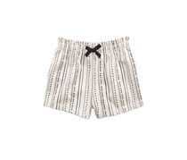 First Impressions Baby Girls Printed Shorts, Moon Beam