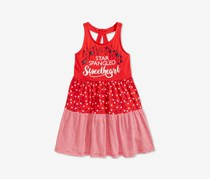 Epic Threads Little Girls Printed Tank Dress, Red