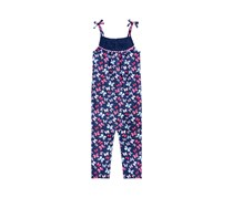 Epic Threads Girls Butterfly-Print Romper, Medieval Blue
